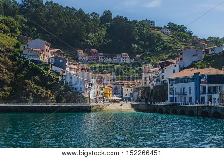 Town Of Cudillero In Asturias