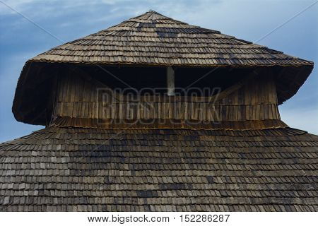 Unique Individual roof natural tile residential private home