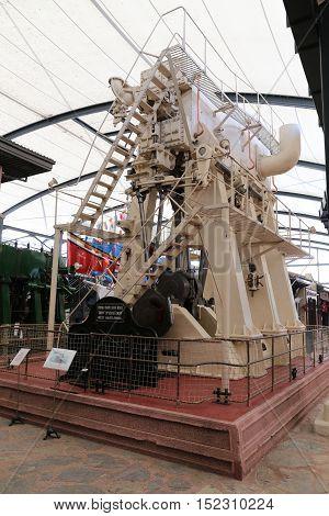 Old Ship Engine