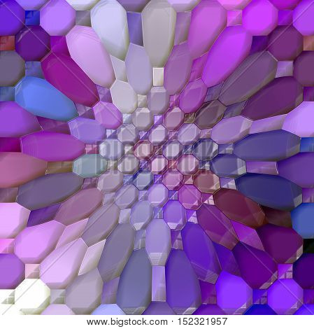 Abstract coloring background of the horizon gradient with visual mosaic,pinch and plastic wrap effects