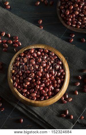 Raw Organic Red Adzuki Beans