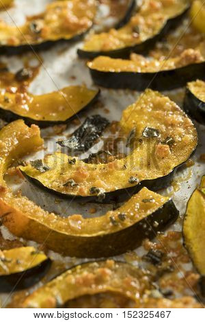 Homemade Autumn Baked Acorn Squash