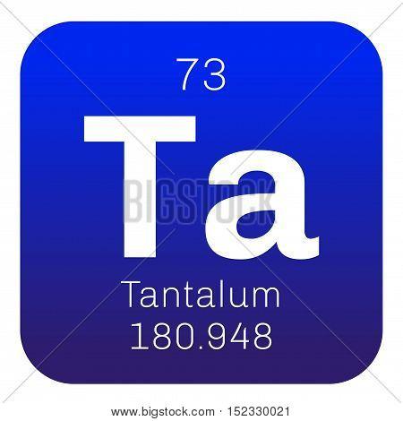 Tantalum Chemical Element