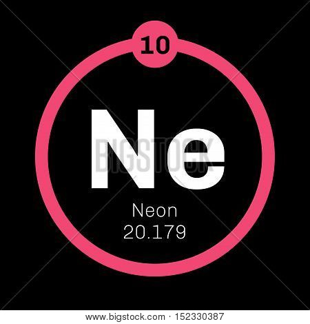 Neon Chemical Element