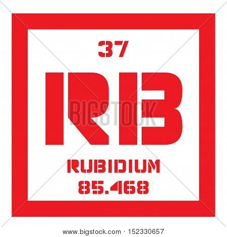Rubidium Chemical Element