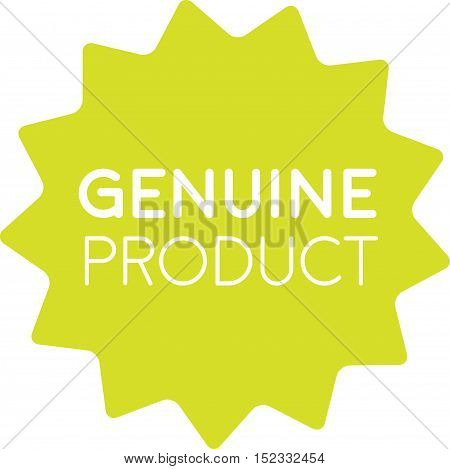 Genuine Product Badge