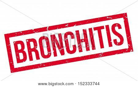 Bronchitis Rubber Stamp