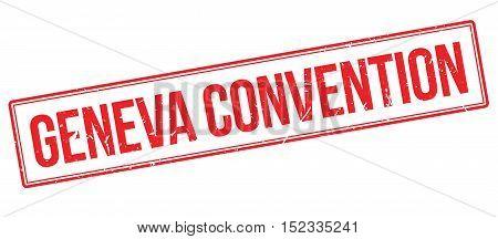 Geneva Convention Rubber Stamp