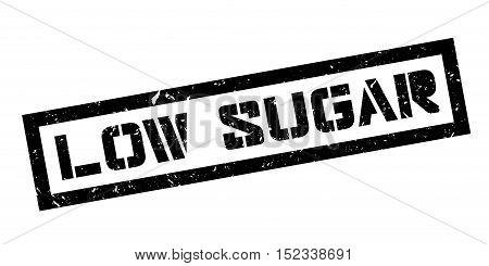Low Sugar Rubber Stamp