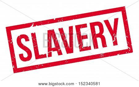 Slavery Rubber Stamp