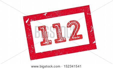 112 Rubber Stamp