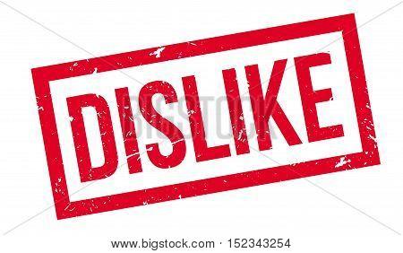 Dislike Rubber Stamp