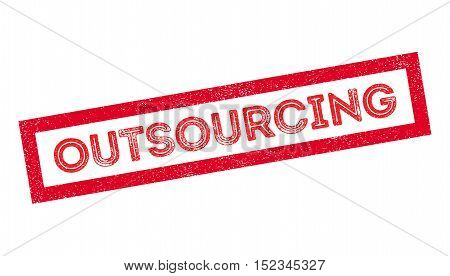 Outsourcing Rubber Stamp