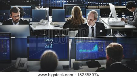 Sales Retail Income Profit Accounting Concept