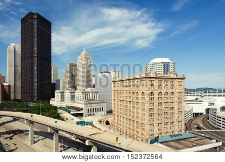 Pittsburgh skyline, Pennsylvania