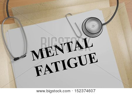 Mental Fatigue Concept