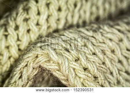 Knitted wool texture background. Wool fabric for background.