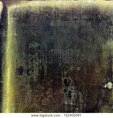 Colorful grunge background, tinted vintage style texture. With different color patterns: yellow (beige); brown; gray; green; black
