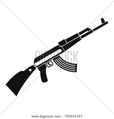 Kalashnikov machine icon. Simple illustration of Kalashnikov machine vector icon for web