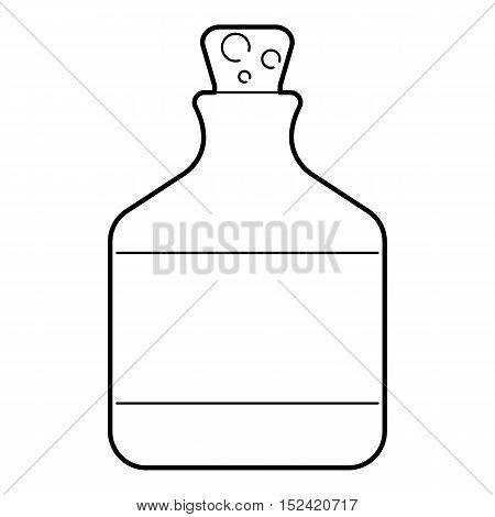 Ethanol in bottle icon. Outline illustration of ethanol in bottle vector icon for web isolated on white background