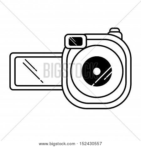 video camera device isolated icon vector illustration design