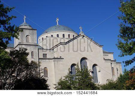 Saint Sophia Greek Orthodox Cathedral Washington DC