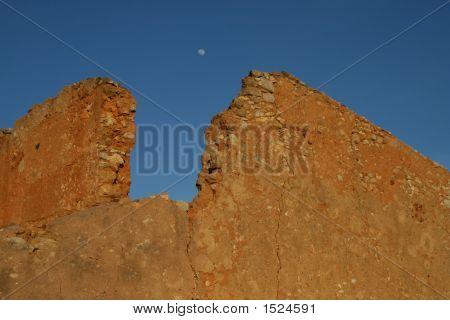Moon On A Wall