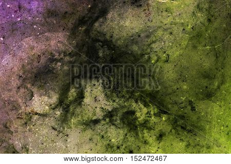 Abstract Background. Green And Crimson