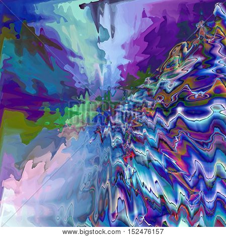 Abstract coloring background of the horizon gradient with visual lighting,pagecurl,wave and pinch effects