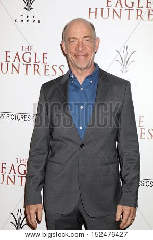 LOS ANGELES - OCT 18:  J. K. Simmons at the