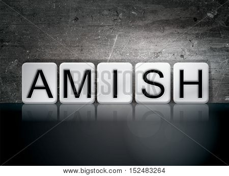 Amish Tiled Letters Concept And Theme