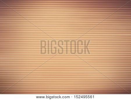 Brown abstract background with horizontal line pattern