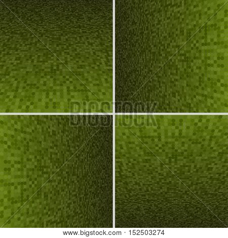Set Abstract Dotted Halftone Effect Vector Background. Perspective Halftone Vector Background. Vector Background with Copy-Space. Yellow Perspective Background. Vector illustration for Web Design.
