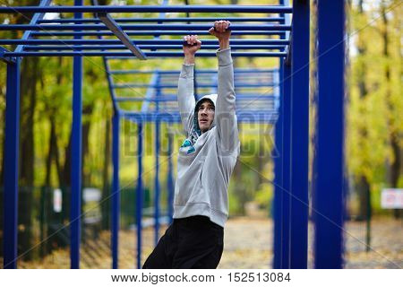 Exercising on sport facilities