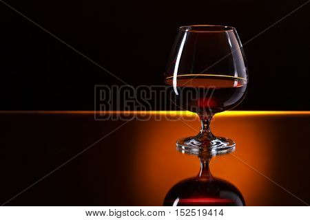 Snifter With Brandy