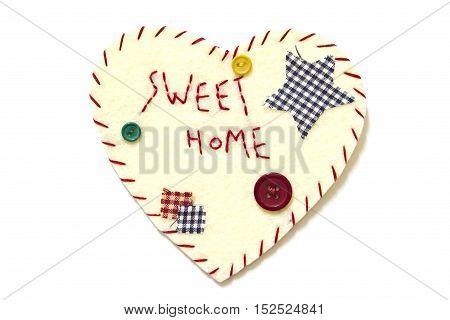 Heart sign velvet, design , handmade, heart shape
