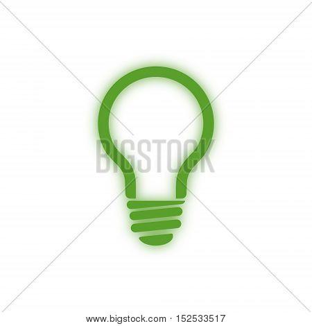 Vector Renewable energy designs (eco icon) on white background