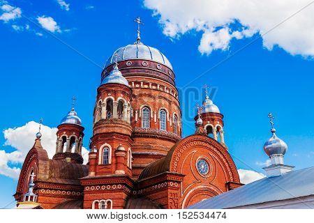 The Trinity Cathedral in the city Urzhum. Kirov region. Russia
