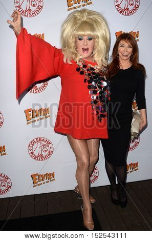 LOS ANGELES - OCT 17:  Lady Bunny, Cassandra Peterson at the