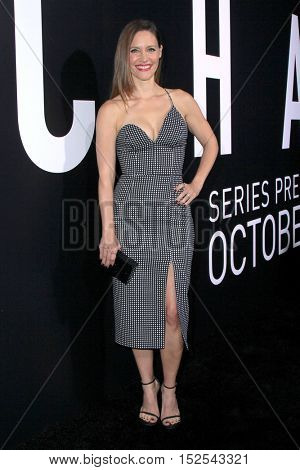 LOS ANGELES - OCT 17:  KaDee Strickland at the Hulu Chance Premiere at Harmony Gold Theater on October 17, 2016 in Los Angeles, CA