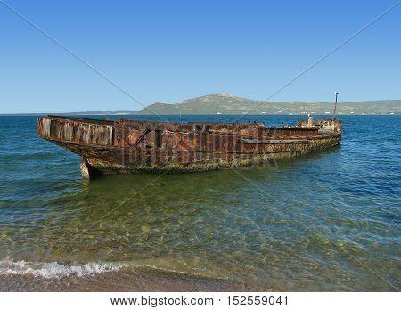 Ship Wreck, Langebaan, Western Cape South Africa 11a