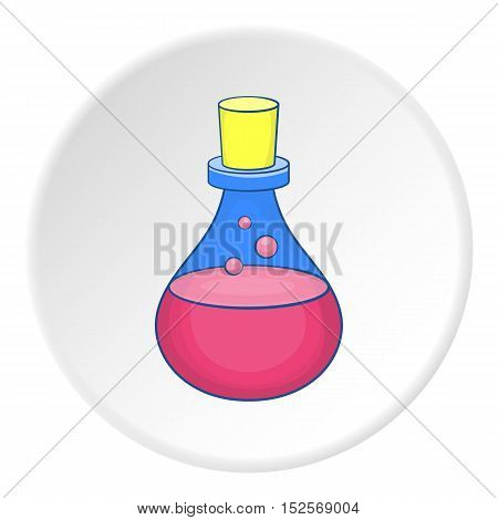 Bulb icon. Flat illustration of bulb vector icon for web