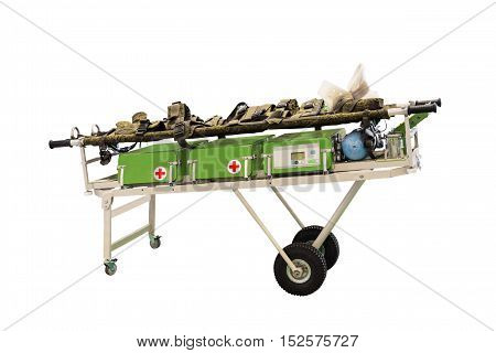 mobile medical stretchers are widely used in search and rescue operations of various types and scale resulting emergency situations of technogenic and natural character and assisting the civilian population in