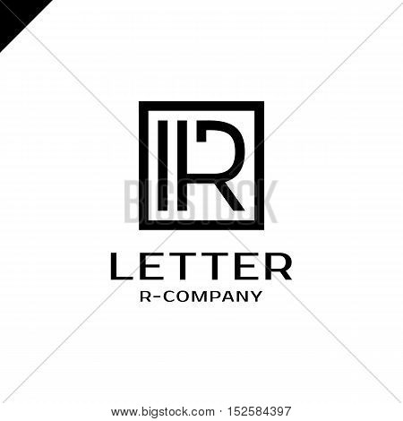 Royal Logo Vector Template. Hotel, Kings Symbol, Top Hotel, Letter R, Premium R Brand Boutique, Fash