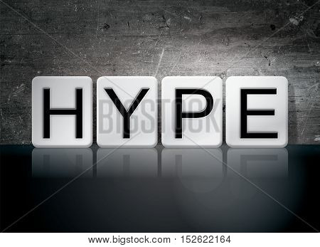 Hype Tiled Letters Concept And Theme