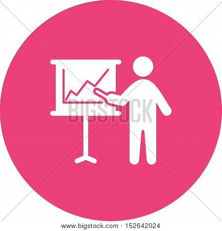 Expo, trade, fair icon vector image. Can also be used for people. Suitable for use on web apps, mobile apps and print media.