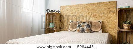 Fibreboard Bed Headrest