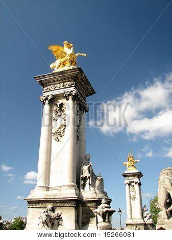 Pont Alexander III in Paris