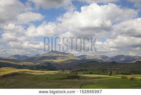 Spectacular Eskdale, The Lake District, Cumbria, England