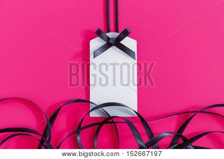 Gift Tag With Ribbon
